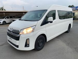 TOYOTA HIACE HIGH ROOF  3.5L 13 Seats 2020 Model